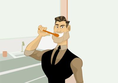 ?刷牙最常见的三大误区!