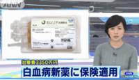 日本政府宣布為白血病治療買單,3349萬白血病藥被正式納入日本醫保