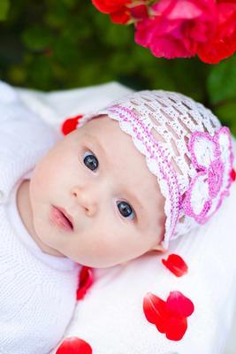 宝宝流口水图片